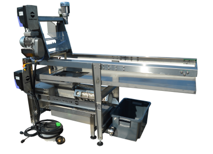 ES1B Uncapper + Honey & wax Press System P200
